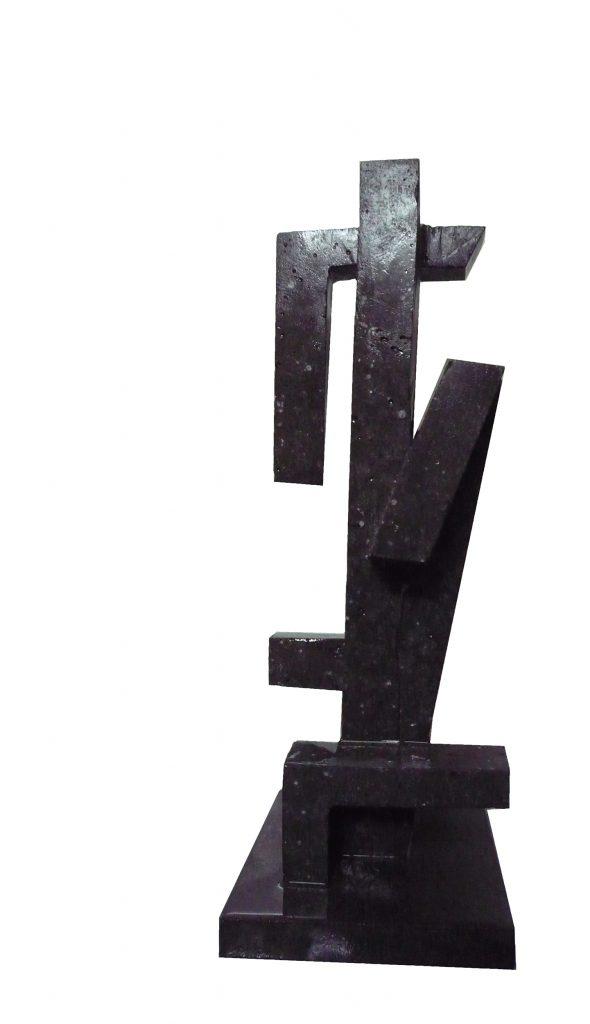 Black Basalt Stone-2011-60x25x20 cm 1