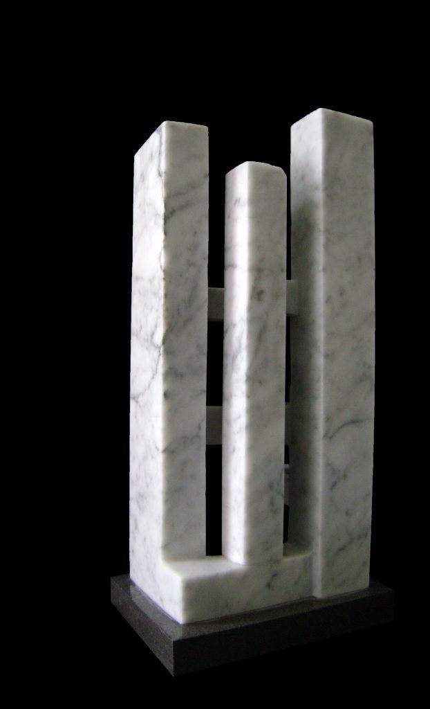 Carrara Marble-2011-46x22x17 cm 3