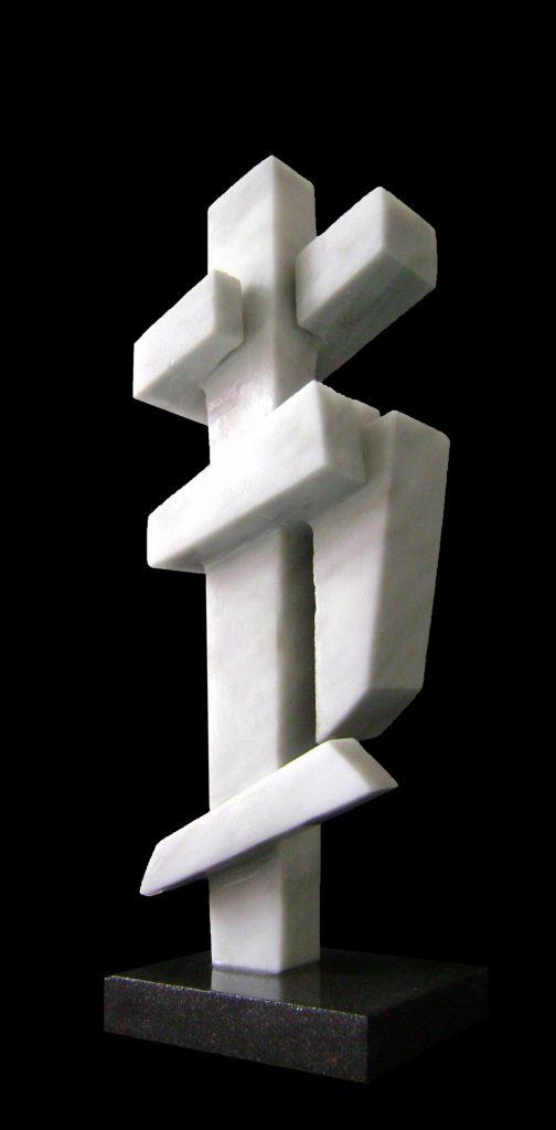 Carrara Marble-2011-47x15x14 cm 1