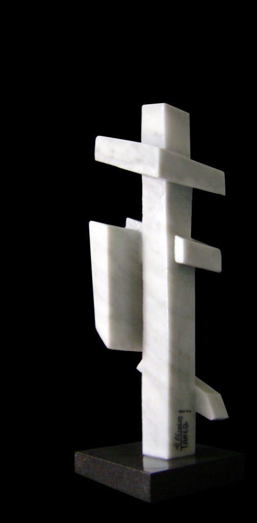 Carrara Marble-2011-47x15x14 cm 3