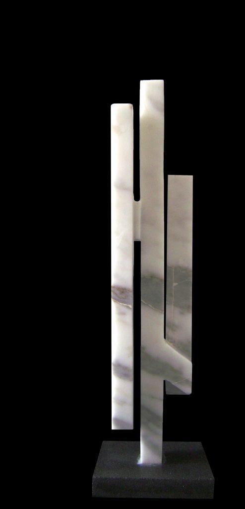 Carrara Marble-2011-61x16x16 cm 1