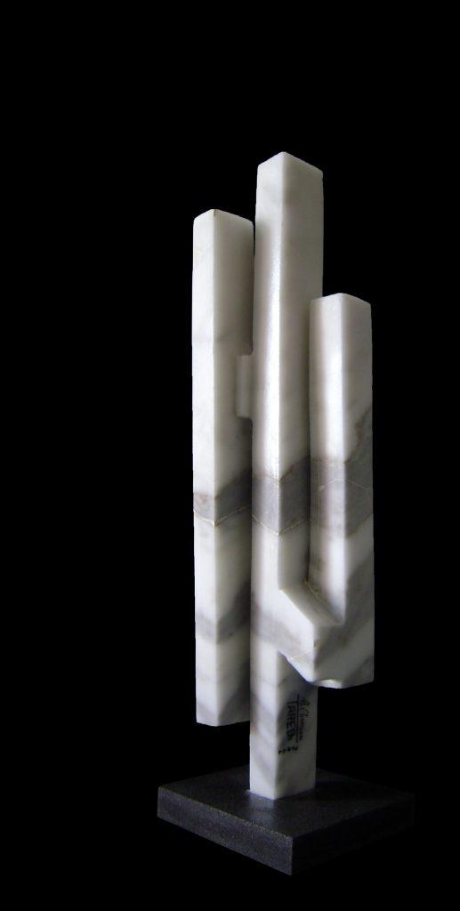 Carrara Marble-2011-61x16x16 cm 2