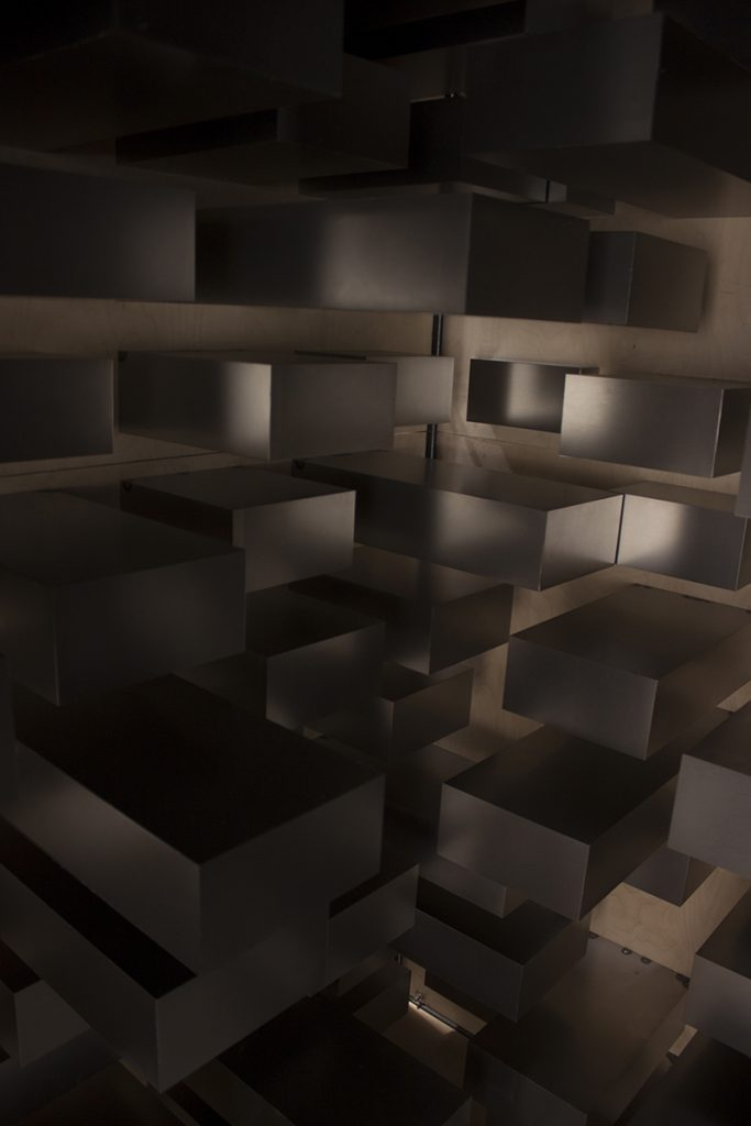 The Cell of the Lines-Steel Prfiles, Multiplex wooden Boards and Steel Sheets-2019-294x234x227 cm 16