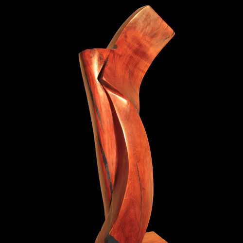 Apricot Wood-2010-94x35x31 cm 1