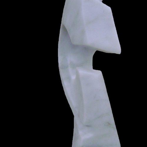 Carara Marble-2009-45x20x30 cm 4