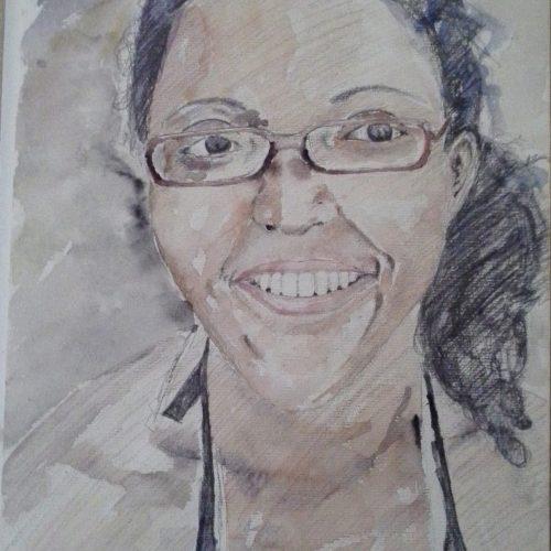 Pamela-Aqarelle on Paper-2016-40x30 cm